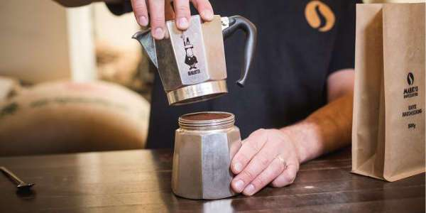 Das richtige Zusammenschrauebn einer Espressokanne