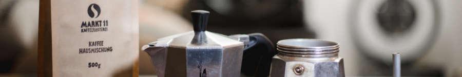Hier findest Du alle Tipps rund um die Kaffeezubereitung mit dem Espressokocher