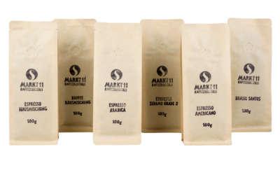 Kaffeesorten aus aller Welt - in einer Box