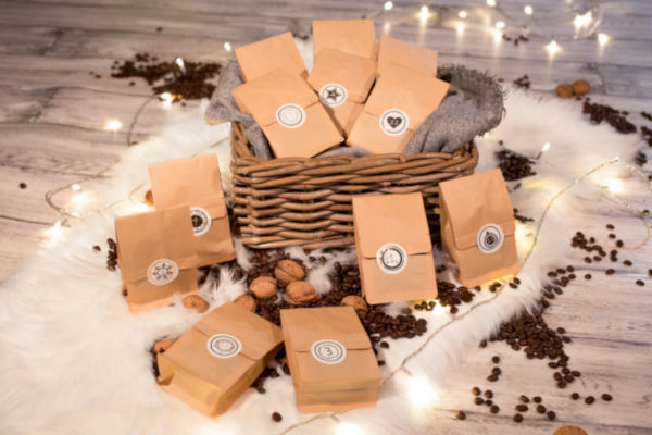Probier unseren leckeren Kaffee und Espresso im Markt 11 Weihnachtskalender
